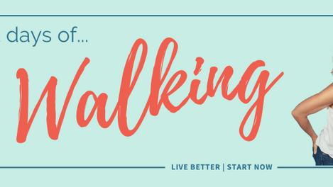 21 Days of ... WALKING - starts April 1, 2021
