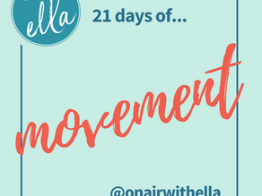 Episode 211: 21 Days of MOVEMENT Starts Aug 1!