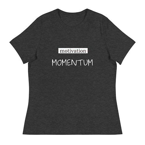 MOMENTUM | women's tee {relaxed fit}