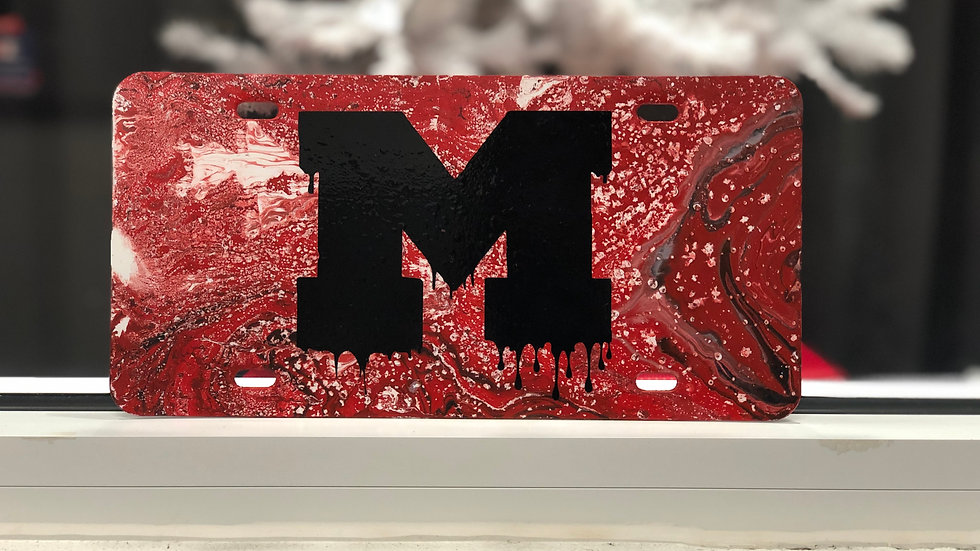 Hydro Dipped License Plates
