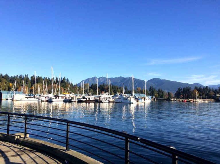 A DAY IN VANCOUVER
