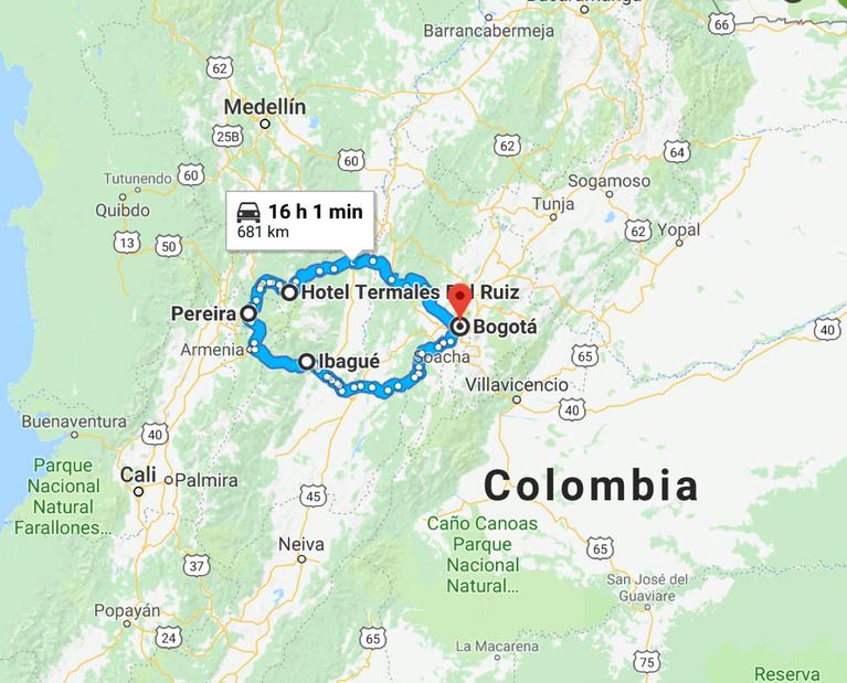 COLOMBIA'S COFFEE REGION BY MOTORBIKE