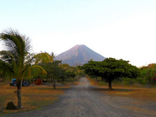 ON A VOLCANIC ISLAND IN NICARAGUA