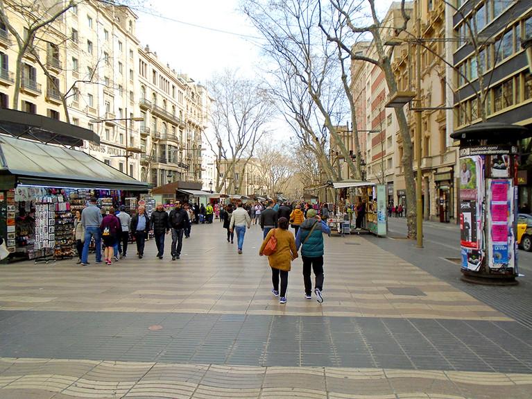 RAMBLING IN BARCELONA