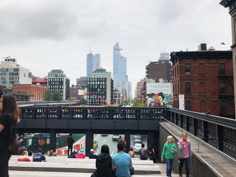 TAKING THE HIGH LINE IN NYC