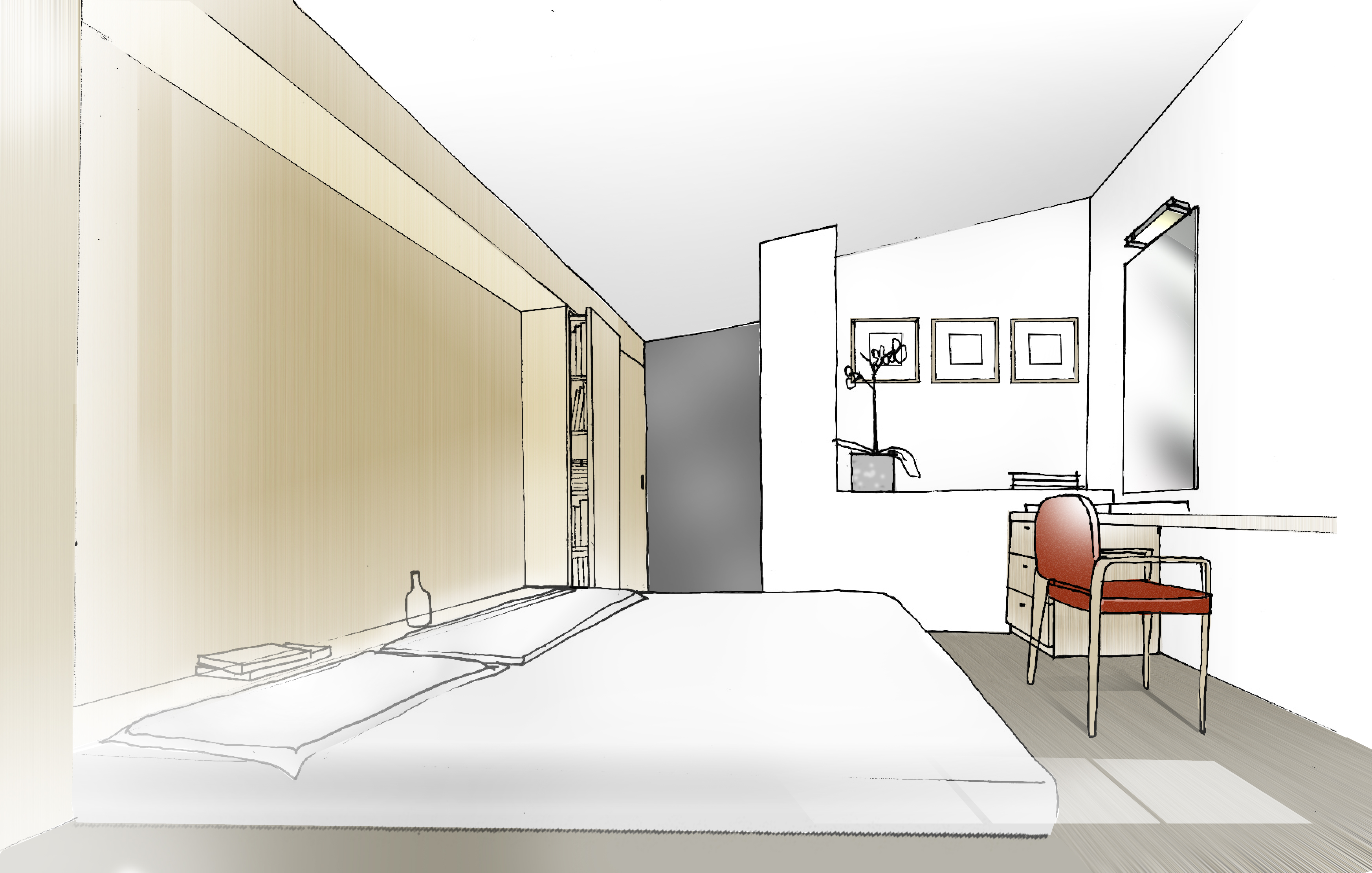 Perspective int. chambre