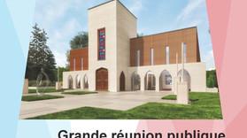 Communiqué de presse : Grande réunion publique d'informations pour l'Institut Cultuel et Cul