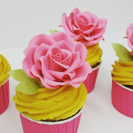 cupcakes doble rose www.andreagorigoitia.com