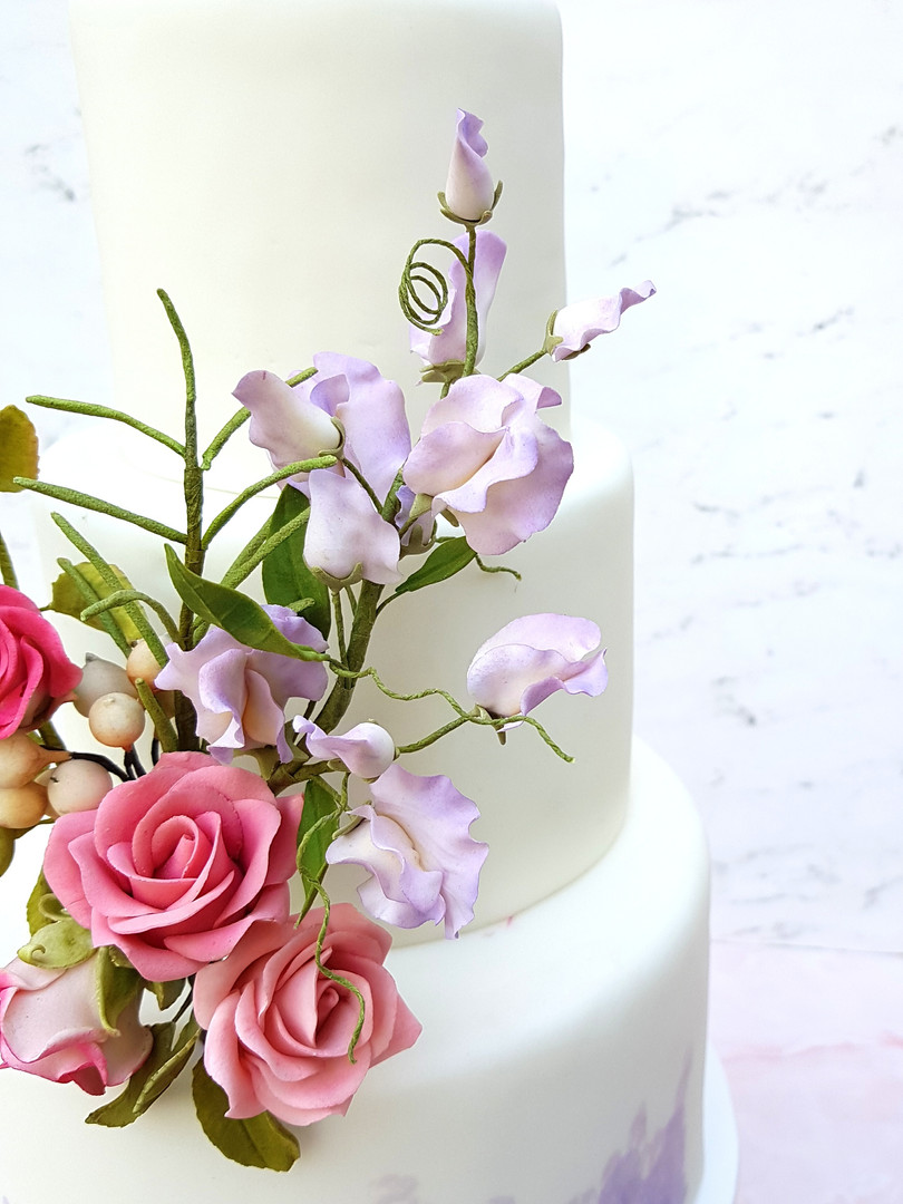 Curso Online Básico de Flores en pasta goma