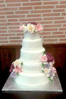 Torta Boda Bouquet