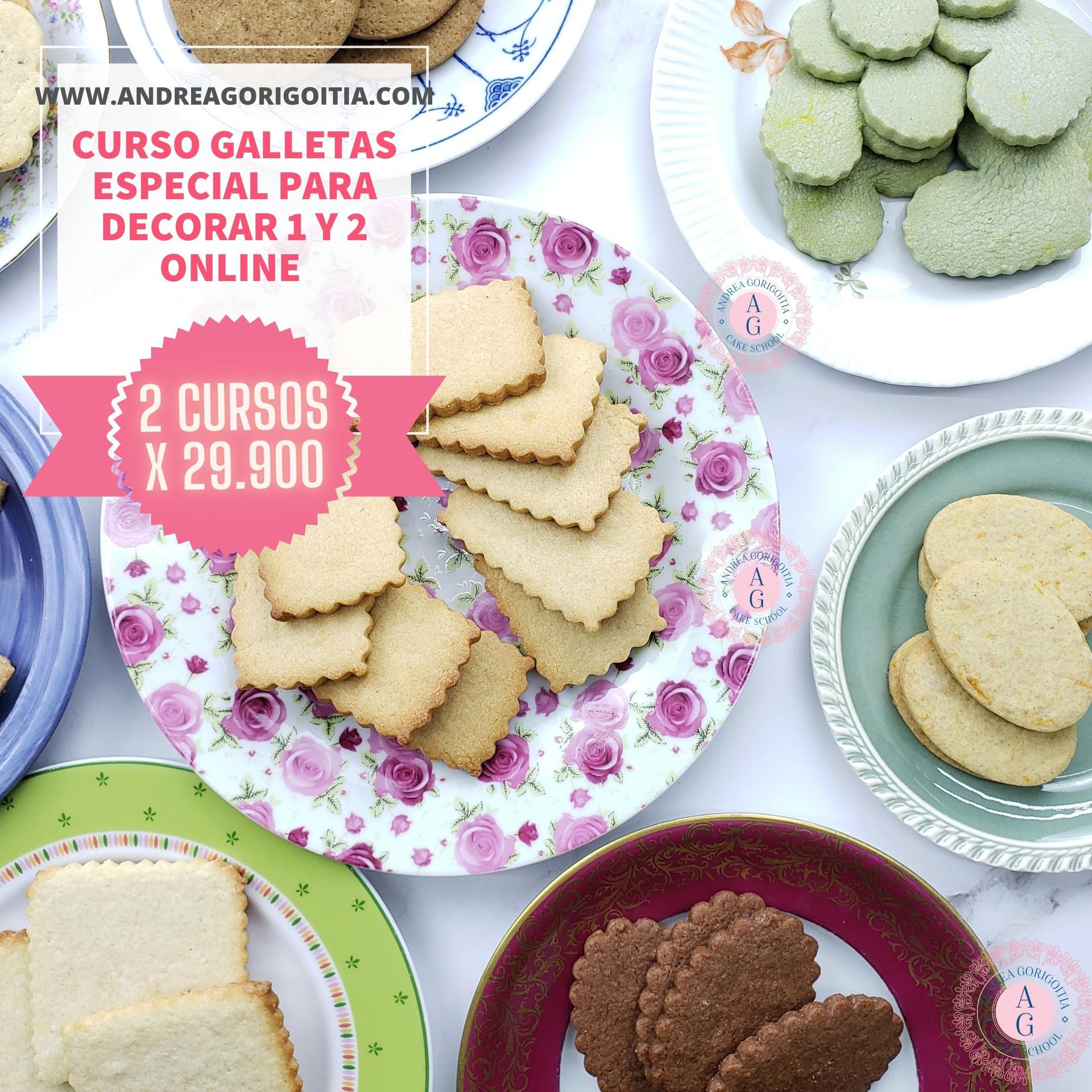 curso galletas para vender