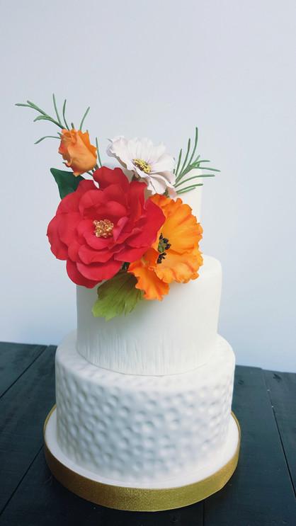 Torta Camelia y Amapola