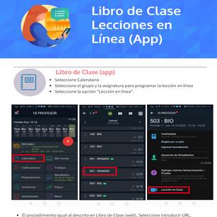 Lecciones en Línea App