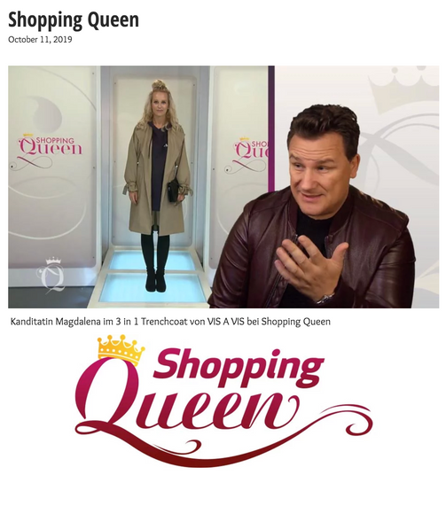 Shopping Queen VOX  Oktober 2019