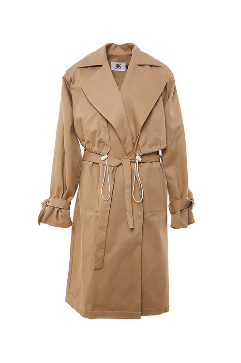 3 in 1 Trenchcoat beige