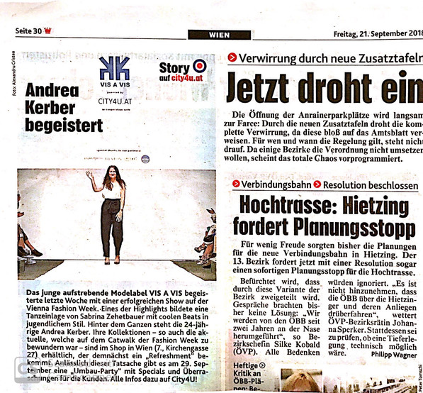 Kronen Zeitung  September 2018