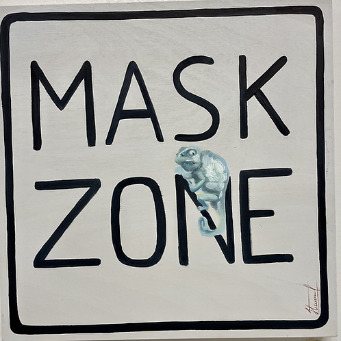 Signs - Mask Zone