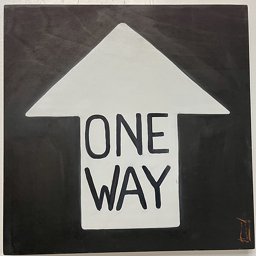 Signs - One Way