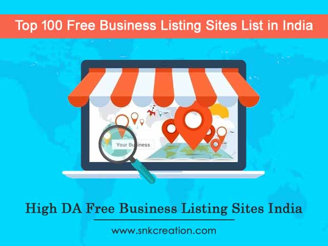 Top 100 Free Business Listing Sites List in India 2019