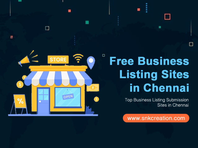 Top Free Chennai Business Listing Sites List | High PR Business Listing Sites in Chennai