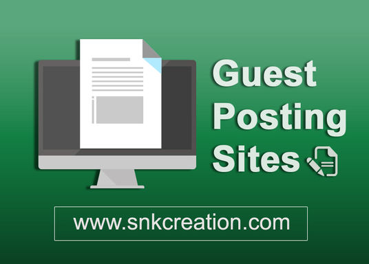 Free Guest Posting Sites List, Guest Posting, 50+ Top Guest Posting sites