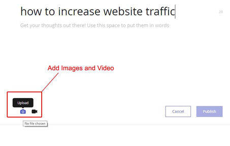 how to get traffic to your website fast