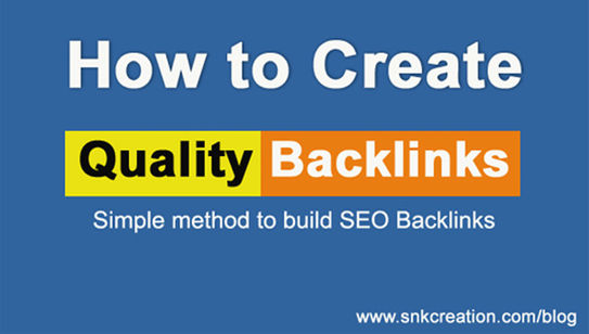 how to create backlinks manually, how to create backlinks to your site for free