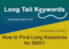 long tail keywords, what is long tail keywords?