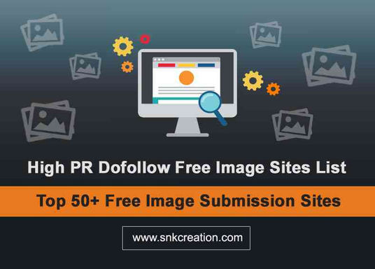 high pr image sharing sites | free image submission sites list