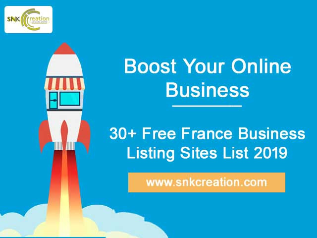 30+ Free France Business Listing Sites List 2019