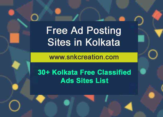 free ad posting sites in kolkata, kolkata free classified ads sites