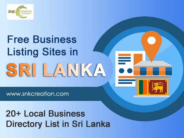 20 free business listing sites in sri lanka