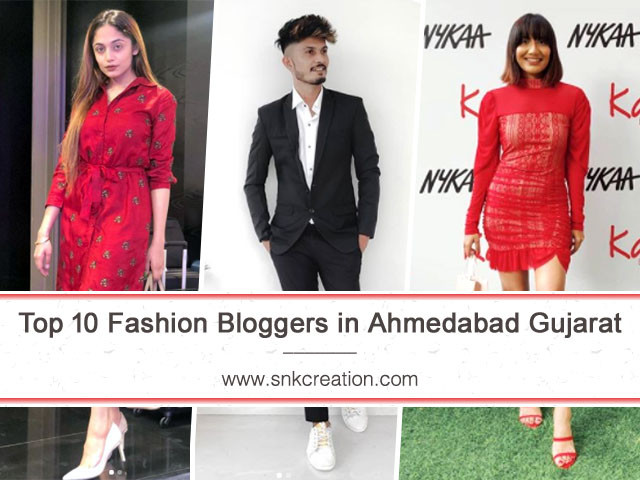Top 10 Fashion Bloggers in Ahmedabad Gujarat | Instagram Fashion Influencers in Ahmedabad