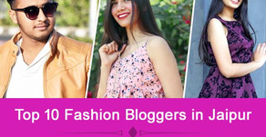 Top 10 Fashion Bloggers in Jaipur | Top Lifestyle Influencers on Instagram from Jaipur