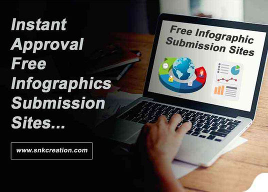free infographic submission sites, instant approval infographics submission sites