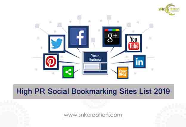 High PR Social Bookmarking Sites List 2019