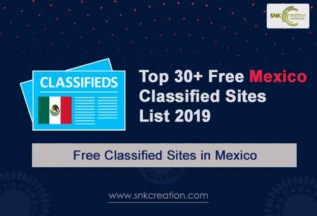 30+ Free Mexico Classified Sites List 2019