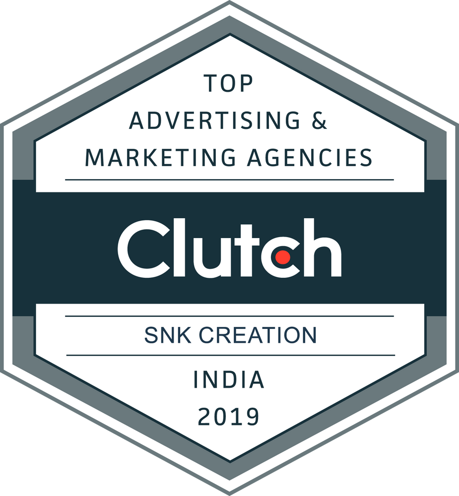 Clutch Leader Award 2019 in India | Top Advertising and Marketing