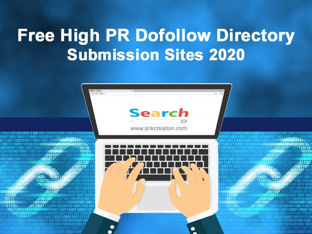 Free High PR Dofollow Directory Submission Sites 2020