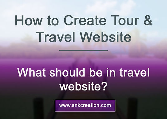 how to create travel website, how to create cheapest website, Rajasthan travel website, tour travel cheapest website, India travel website tips
