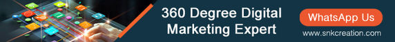 360 Degree digital marketing services in India | Social media marketing services india