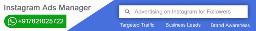 Instagram Targeted Advertising in Mumbai India | Buy Instagram Marketing Plans in india