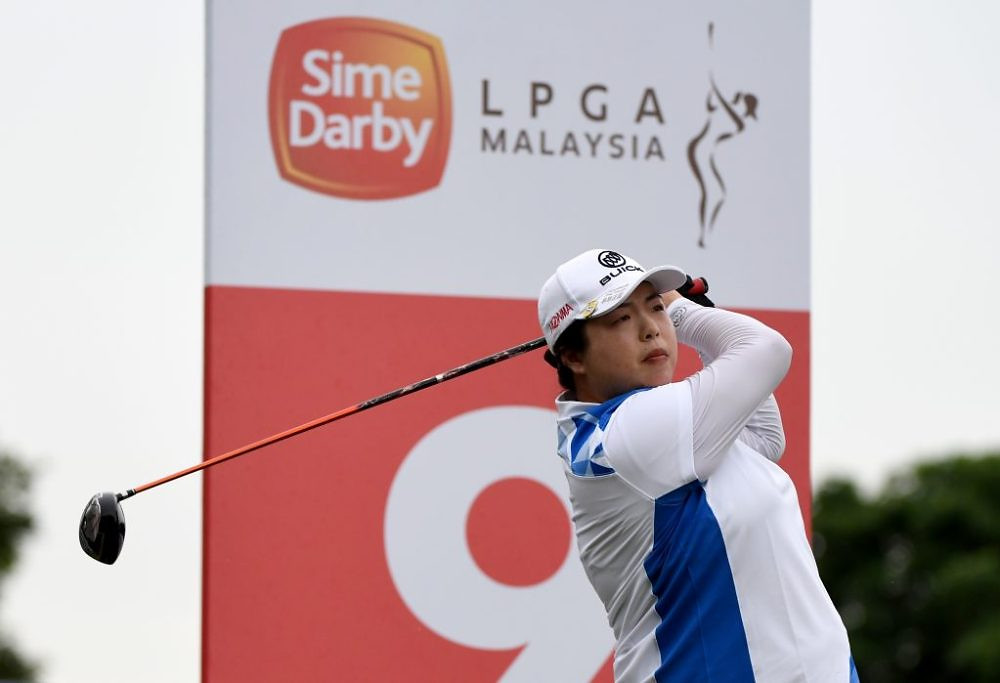 Shanshan Feng of China in action during day two of the Sime Darby LPGA Malaysia at TPC Kuala Lumpur East Course on October 27, 2017 in Kuala Lumpur, Malaysia.Pic By Khalid Redza/IMG