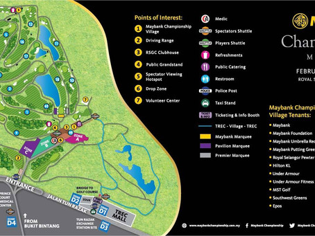 Activities Beyond The Green At The Maybank Championship'16