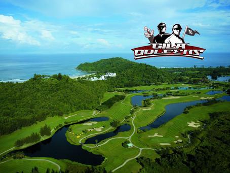 Gila Golfers @ Dalit Bay, Sabah