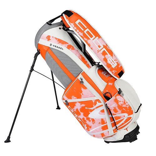 LIMITED EDITION - (ORANGE) LOVE / HAIGHT TOUR STAND BAG