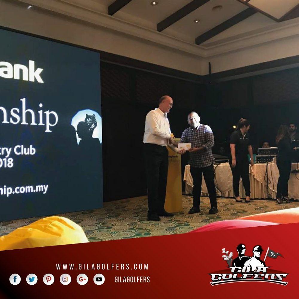 Gila Golfer at Maybank Championship Tee Party