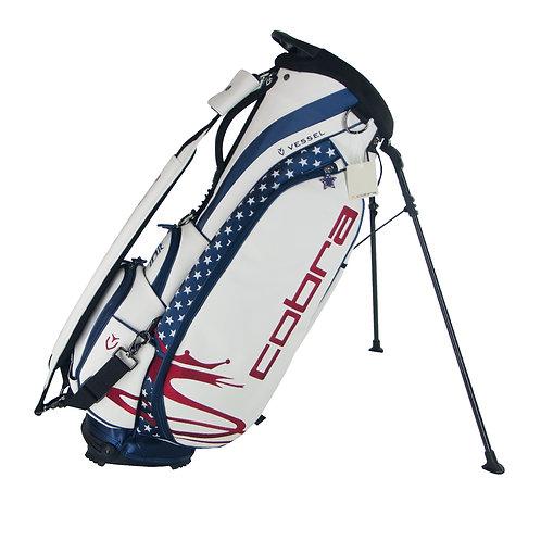 LIMITED EDITION – Cobra X Vessel Golf Patriot Stand Bag