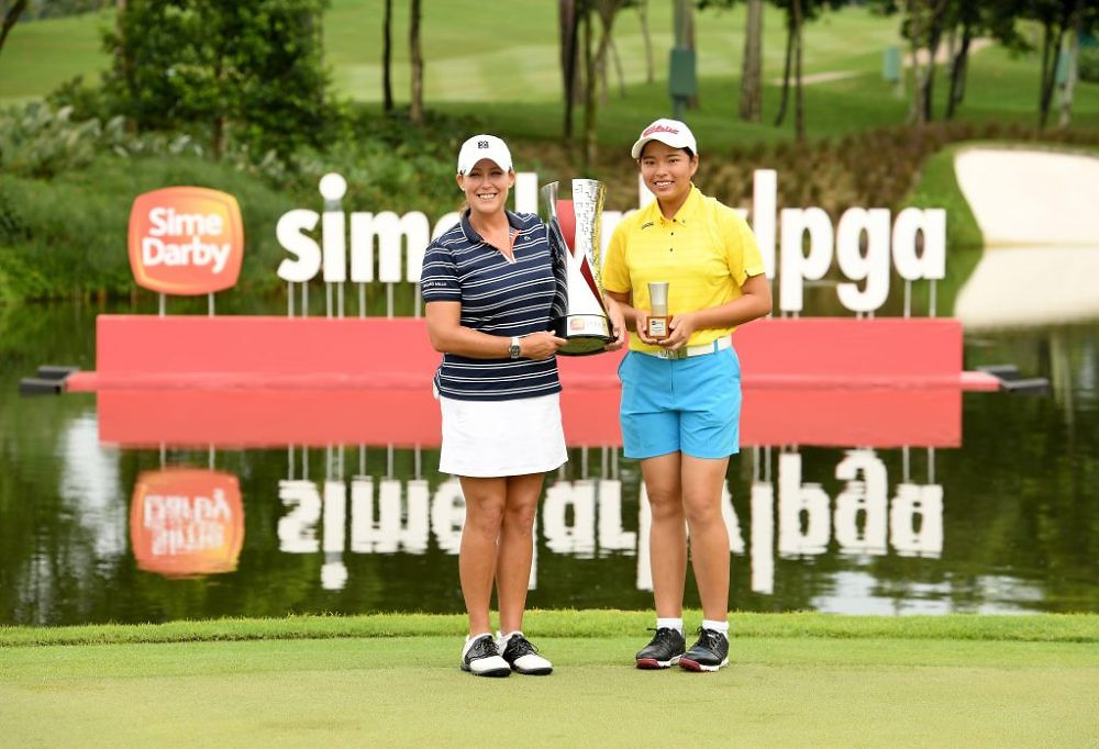Cristie Kerr and Winnie Ng
