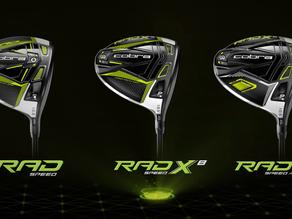 COBRA Golf Unveiled 2021 RADSPEED Family of Metalwoods